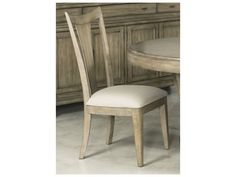 American Drew Evoke Barley Slat Back Dining Side Chair