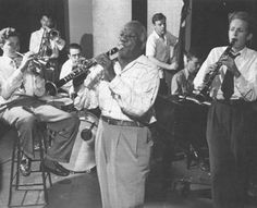 Sidney Bechet (May 14, 1897 – May 14, 1959) was an American jazz saxophonist, clarinetist, and composer. He was one of the first important soloists in jazz (beating cornetist and trumpeter Louis Armstrong to the recording studio by several months and later playing duets with Armstrong), and was perhaps the first notable jazz saxophonist.