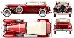 1937 Duesenberg SJ Dual Cowl Phaeton   Amazing Classic Cars ...