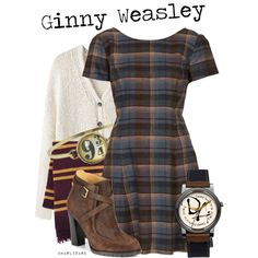"""Ginny Weasley"" by charlizard on Polyvore"