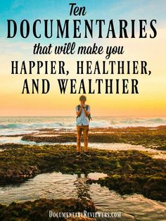 All of these documentaries will make you happy, healthy, and wealthy. No matter what you're looking for, these documentaries are a perfect choice for your next movie night! Best Documentaries On Netflix, Netflix Movies To Watch, Good Movies To Watch, Shows On Netflix, Food Documentaries, Spiritual Documentaries, Castle Tv, Castle Beckett, Abc Family