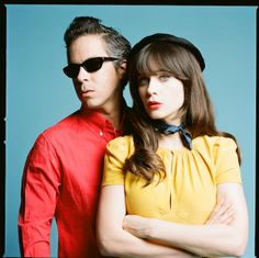 She & Him. For you Zoey and New Girl Fans! Check out Zoey's band!