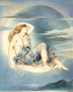 Evelyn de Morgan, Luna
