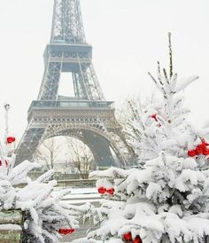 Winter in Paris! Paris In Winter, France - Amazing Places In Winter: You Must Visit Them In Your Lifetime Paris Winter, Christmas In Paris, French Christmas, Winter Snow, Christmas Nails, Christmas Holiday, Christmas Trees, Paris Photography, Winter Photography
