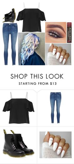 """""""Kayla: December 29, 2016"""" by disneyfreaks39 ❤ liked on Polyvore featuring Fendi, Dr. Martens, Mary Kay and Burt's Bees"""