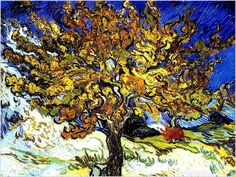 """The Olive Trees"" Vincent Van Gogh 1889"