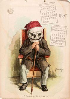 The Antikamnia Chemical Company Calendar, Nov-Dec 1897