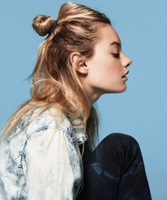 The halfknot is a perfect casual updo