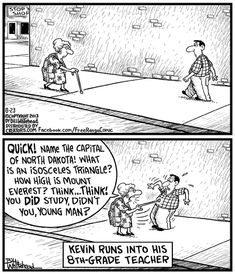 Pop quiz! | Free Range on GoComics.com #humor #comics