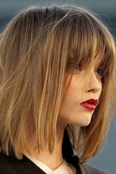 Trendy Lob Haircuts for 2016 | New Haircuts to Try for 2016, Hairstyles for long short and medium hair
