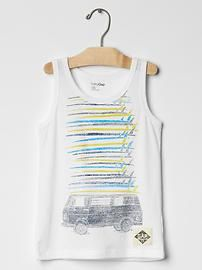 Surf graphic tank