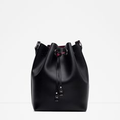 ZARA - WOMAN - BUCKET BAG WITH DETAILS