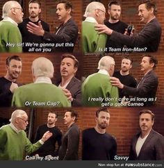 Stan Lee knows what is important