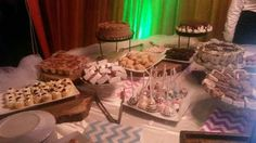 Cake pops, cheesecakes, tiramisu dessert cups brownies, Oreo cake