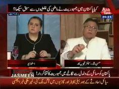 exclusive interview of Hassan Nisar with Jasmeen Manzoor