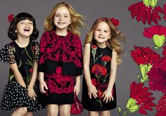 Dolce and Gabbana Girl Collection Summer 2015 3