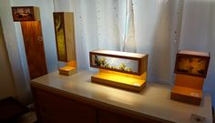Reclaimed Wood Lamps by PSCraftworks by PSCraftworks on Etsy, $225.00