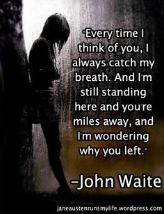 12) Missing You by John Waite