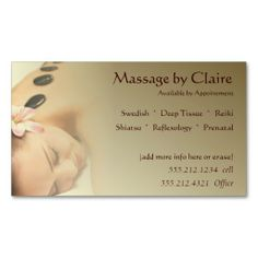 330 best massage business card templates images on pinterest massage therapy business card flashek Image collections