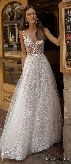 Romantic Bridal Dresses #weddingideas