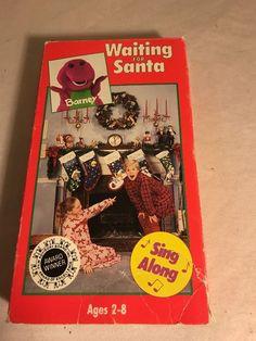 Barney and Backyard Gang Waiting for Santa VHS Tape Lyons Group
