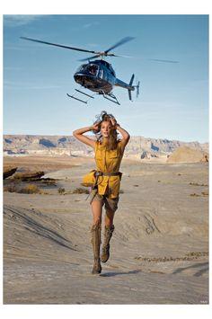 Daria Werbowy Photo Patrick Demarchelier Vogue 2010 copia
