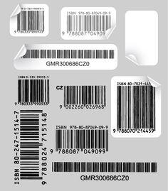 Códigos de barra en fomato vectorial – Puerto Pixel | Recursos de Diseño