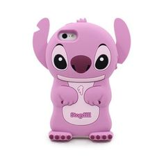 Disney 3D Stitch Ear Flip Movable Cover Case for Iphone 5 Pink (110 RUB) ❤ liked on Polyvore featuring accessories, tech accessories, phone cases, phones, iphone cases, cases, iphone cover case, stitch iphone case, iphone flip case and iphone case