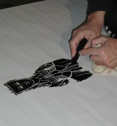How to do a Brass Rubbing - step by step pictures