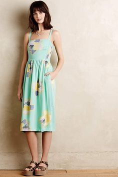 Sketchbook Midi Dress - anthropologie.com