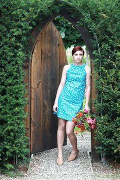 Photography: www.megjenkins.co.uk Dress: twitter.com/LizzieMayVint. Hair: www.heyhair.co.uk Make-up: www.naomiemmanuel... Location: www.hideawaysinha...
