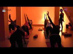 Clase de yoga OnLine 28: Estiramientos pelvis - YouTube