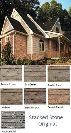 Simulated Stacked Stone Mobile Home Skirting shipped directly to homesite