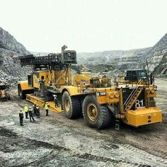 Cat 793B transport lourd