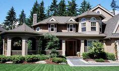 A porch with gazebo... plan 2322JD