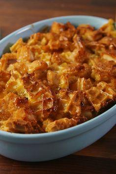 Chicken 'n Waffles Casserole