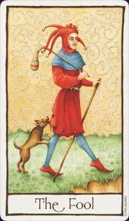 the fool - old english tarot