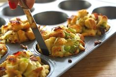 Pancetta and Sage Stuffing Muffins | 19 Genius Thanksgiving Recipes You Can Make In A Muffin Tin