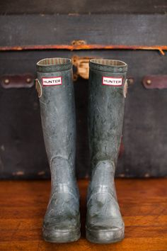 Hunter Boots (an English countryside necessity)