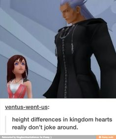 Like Sora is shorter than some of the female character (like Aeirth) but it doesn't make sense, because he's a teenage boy who is growing very quickly. Kingdom Hearts Funny, Kingdom Hearts Games, Kindom Hearts, Heart Pictures, Female Characters, Final Fantasy, Fandoms, Sora, Towers