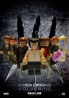 X-Men in Minifigs