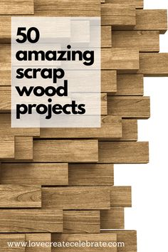 Looking for creative ideas for all of those scraps of plywood, and hardboard? These amazing scrap wood project ideas will give you all the inspiration you need! From beginner to seasoned woodworkers. Make art, crafts, Small Woodworking Projects, 2x4 Wood Projects, Wood Projects That Sell, Wood Projects For Beginners, Diy Woodworking, Wood Crafts That Sell, Easy Small Wood Projects, Sauder Woodworking, Highland Woodworking