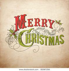 Vintage Merry Christmas (un site riches en belles images... dommage qu'elles ne soient que vendues, et à des prix prohibitifs !...)