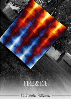 Fire & Ice Quilt Pattern PDF VERSION by 13spools on Etsy, $10.00