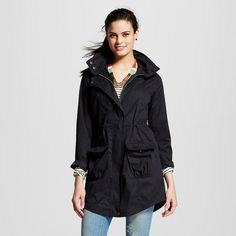 Women's Anorak Jacket - Black - Xxl - Mossimo Supply Co.
