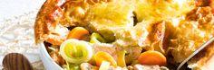 ALDI België - Stoofpotje van kip onder een deegkorstje