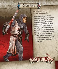 Knight-level backers only will get Sir Chauncey, the Kickstarter Exclusive Survivor