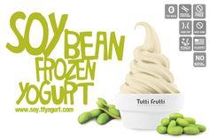 Tutti Frutti is a global frozen yogurt chain that offers dairy-free, soy-based frozen yogurt. They use non-GMO, U.S. grown soy. Vegan and gluten-free.