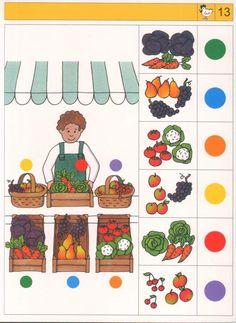 knijpkaart groente en fruit.jpg (746×1024)