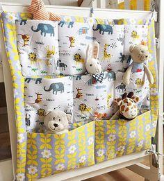 Baby Bed Hanging Storage Bag Cotton Newborn Crib Organizer Toy Diaper Pocket for Crib Bedding Set Accessories in Stock(China (Mainland)) Quilt Baby, Baby Crib Bedding, Hanging Crib, Hanging Storage, Hanging Organizer, Bedside Organizer, Bed Organiser, Baby Storage, Bedding Storage